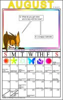 August Calender 2009 by MidNight-Vixen