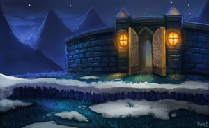 DAY 136. Spyro - Winter Tundra (40 Minutes) by Cryptid-Creations