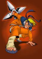 Ritam's Naruto Colored by BakaBoy