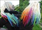 Rainbow head by Masquerade-Infernale