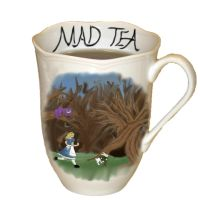 Mad Tea Logo/ Alice in wonderland teacup by beverly546