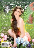 FAE Magazine Summer Issue with Fancy Fairy Wings by FaeryAzarelle