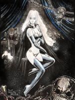 Lady Death by Zuleta
