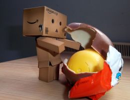 Danbo's Secret Love by jaladams