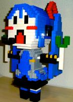Miku in Lego by AllenWalker1996