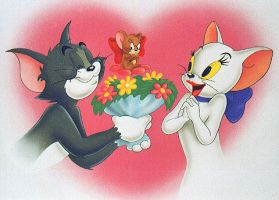 tom and flowery by slooowy