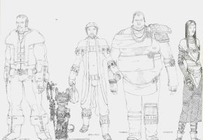 Character Designs 2 by LogicDreams