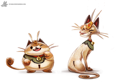 Day 791. Kanto 052 - 053 (Redo) by Cryptid-Creations