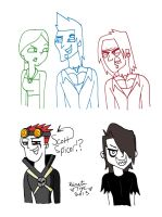 TDAS Drawings by sailorlovesong