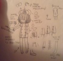 Poor quality pic of new OC by LiveWireGoth