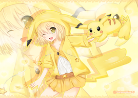 Pika Girl [Pokemon] by SakuraAlice33