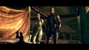 Wesker and Excella by RedDevil00