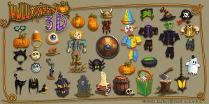Halloween3D Concepts by Miggs69