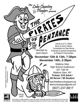 Pirates Of Penzance (poster) by DAScottJr