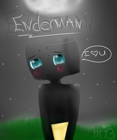 Lovable Enderman. by NeveahsStar