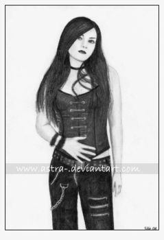 Amy Lee by astra-