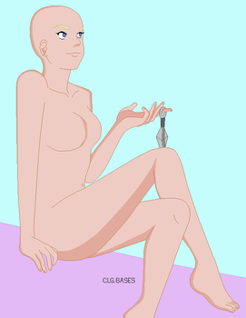53 1/2 :Ino Pixel Base Out Of Crepusculae's Art by CLGbases