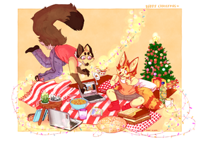 WHOOPS MERRY CHRISTMAS by Karoopa