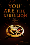 Catching Fire - YOU ARE THE REBELLION by TributeDesign