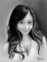 Asian girl by big-green-frog