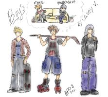 KH:  Boys by ZTKuko