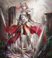 Sword Guardian by aionlights