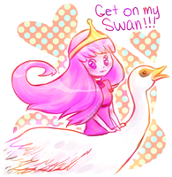 GET ON MY SWAN by Sarucho