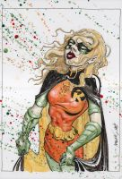 Robin Spoiler Stephanie Brown by G-Ship