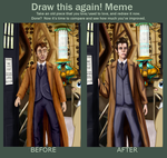 Draw it again Meme: the Doctor by StormCrow-42
