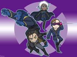 Chibi X-MEN by ka-na-o