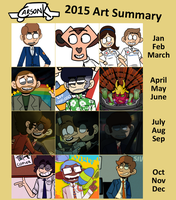 2015 Art Summary by objectophile