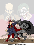 Superman vs Batman/Batman vs Superman. by Payne86