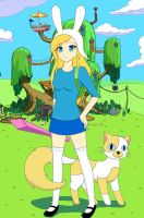 Just Fionna and Cake by sayuri12moonlight