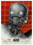 K-2SO Artist Proof Sketchcard by Erik-Maell