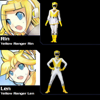 Kagamine Twins as Yellow Lion for NeoduelGX by AdrenalineRush1996