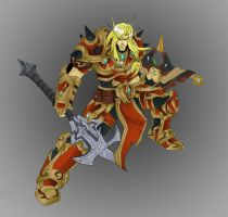 Blood Elf pala by GravedFish by pogzki