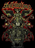 Hellsinations- Tee Design 1 by deadspirit6