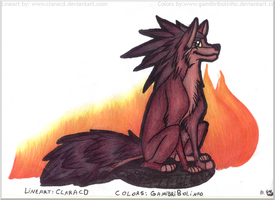 KH: Axel Wolf. by Gamibrii