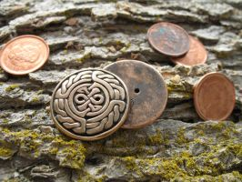 Knotwork Button by Cloud-Dragonz
