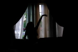 Window Silhouette 15 by IllusionsGlade