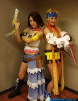 + FFX-2 - Deadly Duo + by hiyoko-chan
