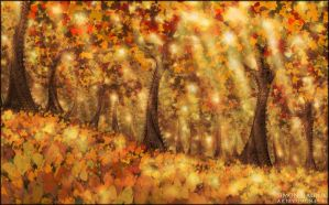 Autumn Dream by Kudiah