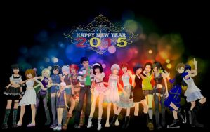 :: HAPPY NEW YEAR 2015 :: by tifany1988