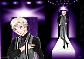 Fashion Design Norway of Hetalia by Zamarazula