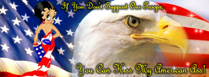 Support Our Troops! by blackhavikgraphics
