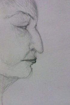 Ferry Boat sketches: woman II by charuli