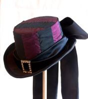The Striped One Top Hat II by RagDolliesMadhouse