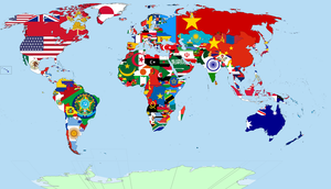 Post-Aftermath Flag Map by tylero79