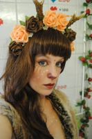 Faun Girl 02 by KittyTheCat-Stock