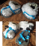 First Time Fursuit Shoes by wolfforce58